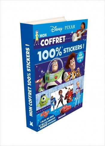 Disney Pixar - Mon coffret 100% stickers