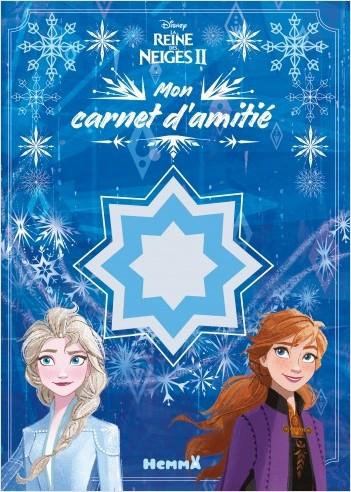 Disney La Reine des Neiges 2 - Mon carnet d'amitié