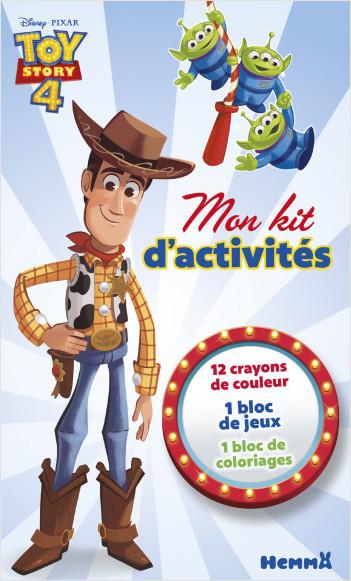 Disney Toy Story 4 - Mon kit d'activités