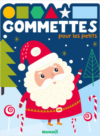 Gommettes pour les petits (Père Noël)
