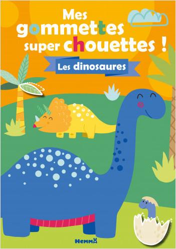 Mes gommettes super chouettes ! Dinosaures T16 (prov)