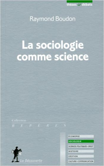 La sociologie comme science