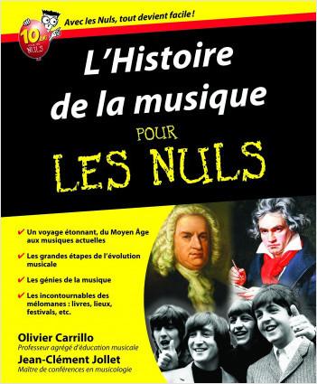 L'Histoire de la musique Pour les Nuls