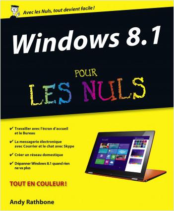 Formation Livre + DVD Windows 8.1 Pour les Nuls