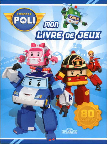 robocar poli mon livre de jeux lisez. Black Bedroom Furniture Sets. Home Design Ideas
