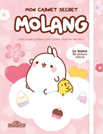 Molang – Mon journal intime – Journal intime à compléter – Dès 7 ans