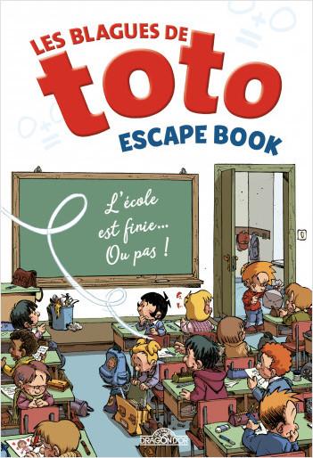 Les Blagues de Toto – Escape book – Livre-jeu avec énigmes – Dès 8 ans