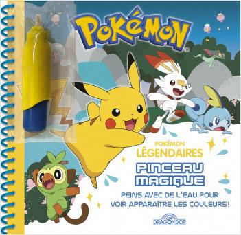 Pokémon – Pinceau magique – À la recherche des Pokémon légendaires – Dès 3 ans