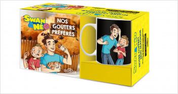 Swan & Néo – Notre coffret mug magique – Coffret avec un mug magique et un livre de recettes – Dès 6 ans