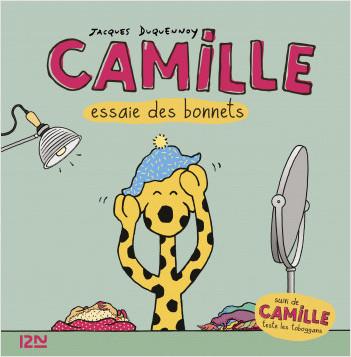 Camille essaie des bonnets + Camille teste les toboggans