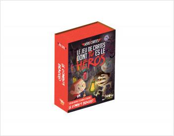 Héroï'cartes : Le complot Draculo - Jeu de cartes dont tu es le héros - De 8 à 12 ans
