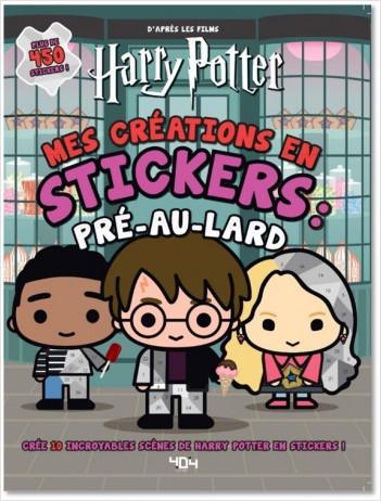 Harry Potter : Mes créations en stickers : Pré-au-lard - 450 stickers - à partir de 6 ans