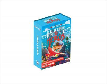 Héroï'cartes : Alerte à Crabu - Jeu de cartes dont tu es le héros - De 8 à 12 ans