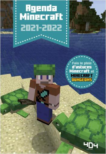 Agenda Minecraft 2021-2022 - Agenda scolaire - Dès 7 ans