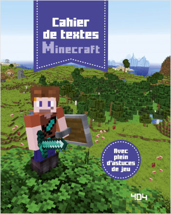 Agenda de textes Minecraft - Avec des intercalaires pour chaque jour de la semaine ! - Dès 6 ans
