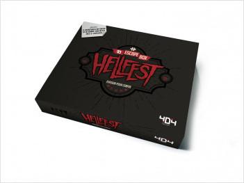 Escape Box Hellfest : Évasion pour l'enfer - Escape game de 3 à 7 joueurs - Dès 14 ans et adulte