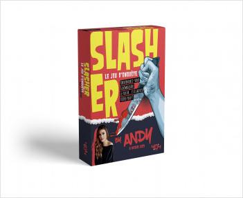 Slasher : le jeu d'enquête by Andy - Jeu de société de 2 à 6 joueurs - Dès 14 ans
