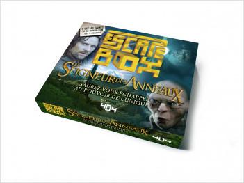 Escape Box - Le Seigneur des anneaux - Escape game officiel - De 3 à 7 joueurs - Dès 13 ans et adulte